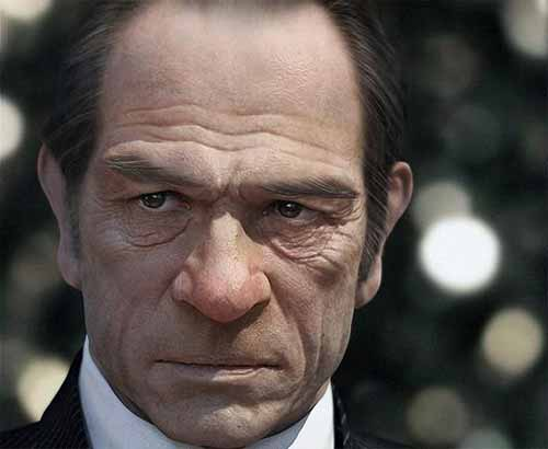 Actor Tommy Lee Jones