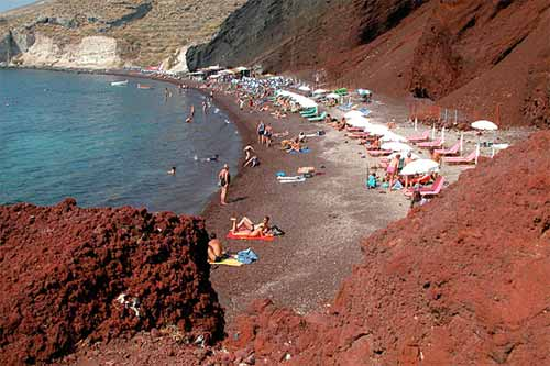 Red Beach, Greece