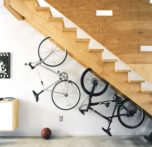 Bike Storage Staircase