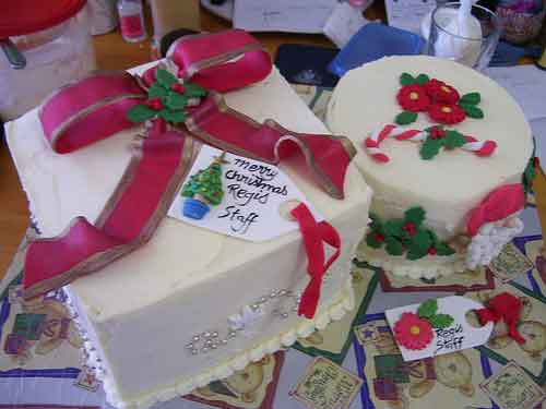 Ideas for Christmas Cakes