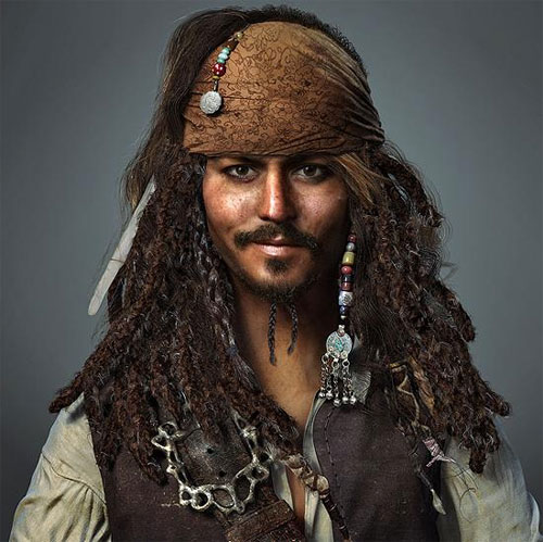 Captain Jack Sparrow / Johnny Depp