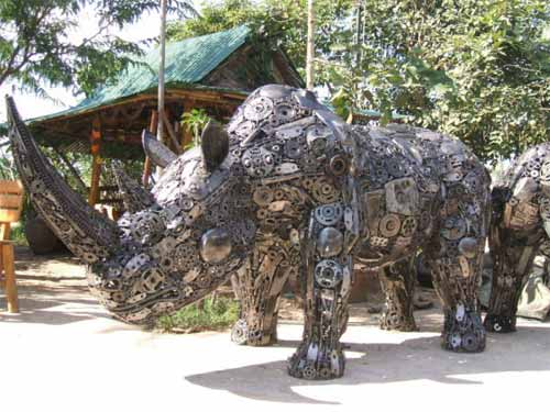 Art From Recycled Materials 25 Creative Examples