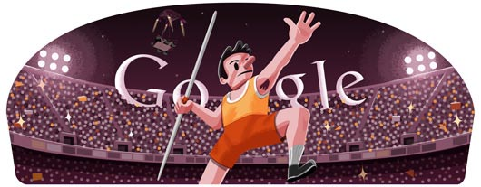 20 Energizing Designs of Google Doodle Sports 2012