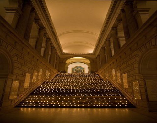 Metropolitan Museum of Art Staircase