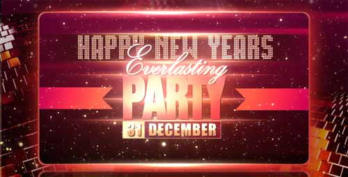 20 Happy New Year After Effects Project Files and Templates