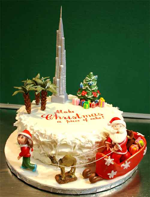 Decorating Ideas > 30 Sweet Christmas Cake Decorating Ideas And Designs ~ 070033_Christmas Decoration Cake Ideas