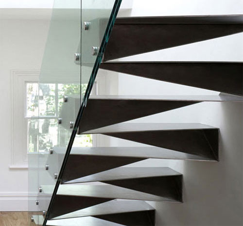 Triangular Staircase