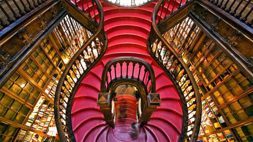 Lello Bookshop Staircase