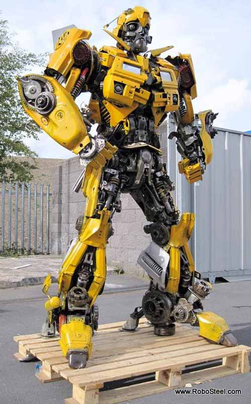 Recycled Bumblebee