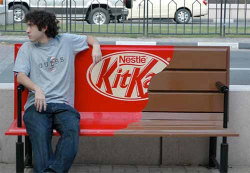30 Clever Examples of Park Bench Advertising Campaigns