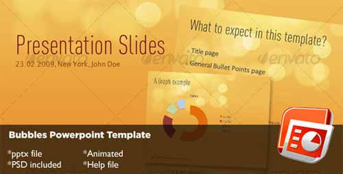 Bubbles PowerPoint Template