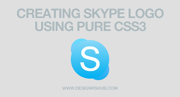 How To Create Skype Logo With Pure CSS3