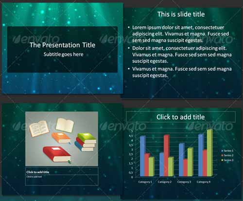 Next Light PowerPoint Template