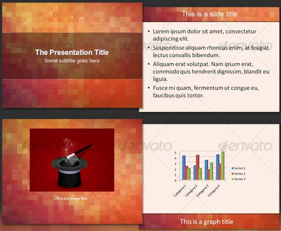 About The Pixels - PowerPoint Design Templates