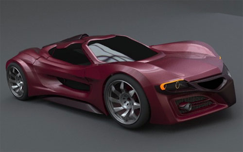 Future Car Concept Designs: Axanos Concept