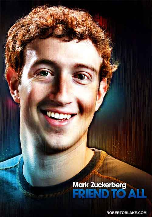 Mark Zuckerberg Digital Art