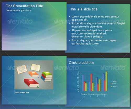 Aura Abstract PowerPoint Templates