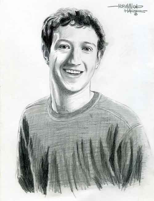 Mark Zuckerberg Sketch