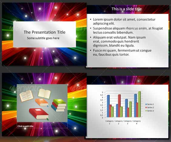 Colorful Abstract PowerPoint Template