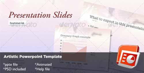 Artistic Powerpoint Template