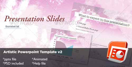 Artistic Powerpoint Template v2