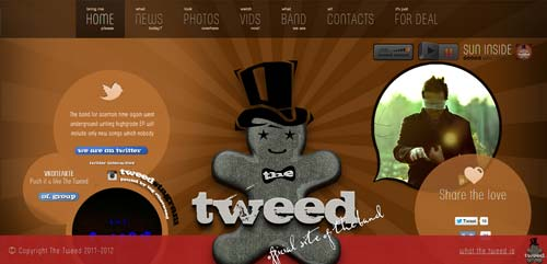 The Tweed Rock Band Official Website