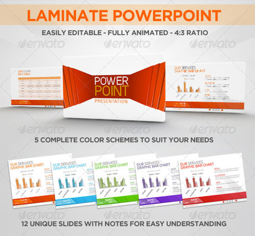 Laminate PowerPoint Corporate Presentation