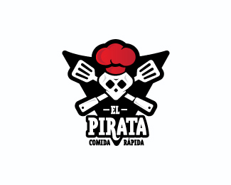 The Pirate Logo Design