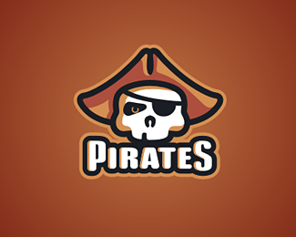 Piracy at Sea: 25 Visionary Pirate Logo Design Ideas