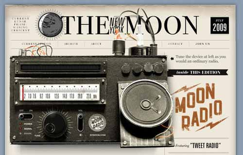 Radio - The New York Moon
