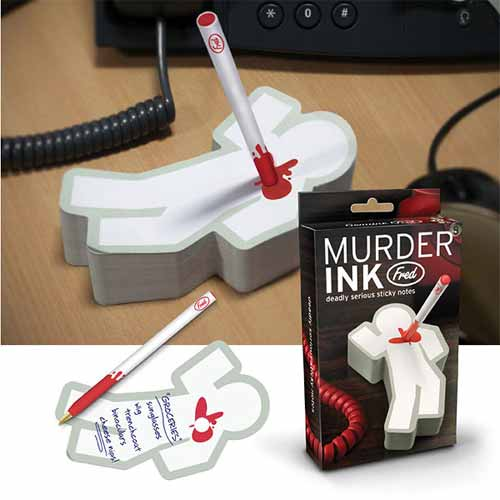 Murder Ink – As if it was a crime scene