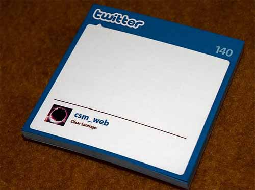 Twitter Sticky Notes