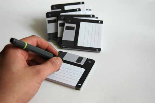 Sticky Note: Save on Disk
