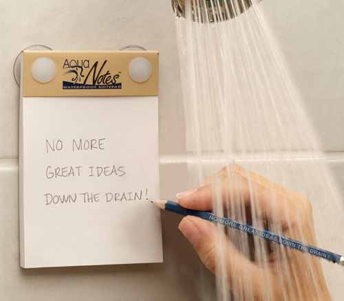 AquaNotes - Waterproof Sticky Notes