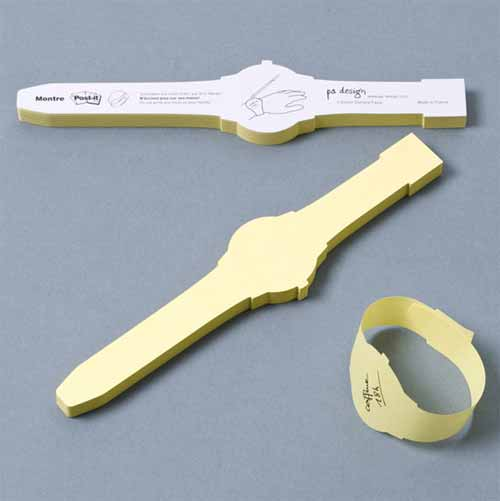 Watch Sticky Note Designs