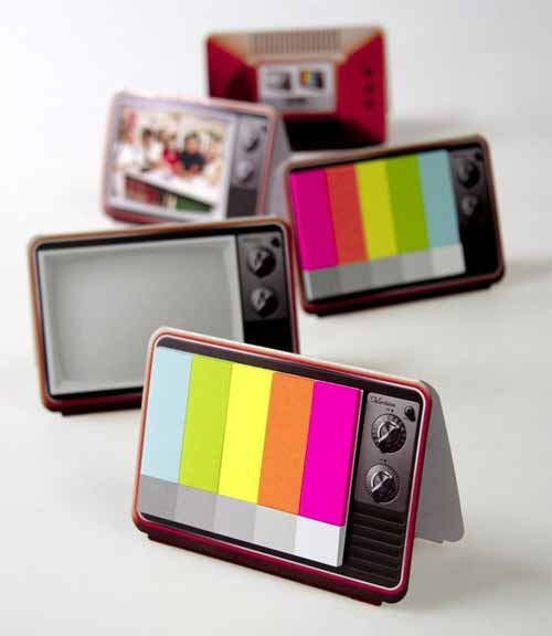Mini TV Sticky Notes