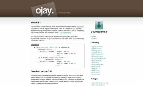 Ojay: YUI Development Made Easy