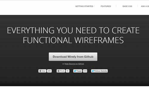 Wirefy | The Responsive Wireframe Framework