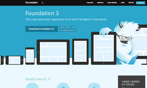 Foundation: Responsive Front-end Framework
