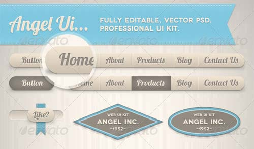 Angel Professional UI Kit