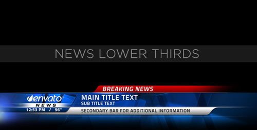 News Lower Thirds