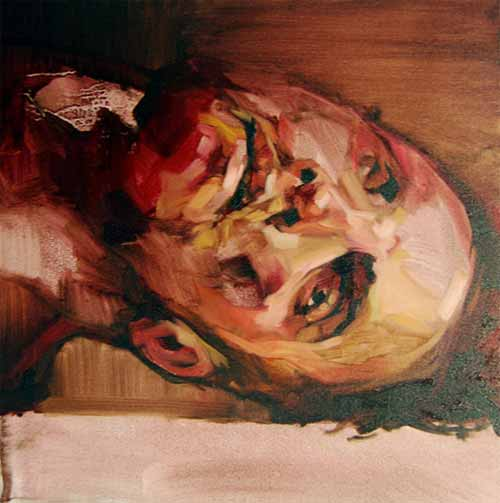 Study for Self Portrait (Red)