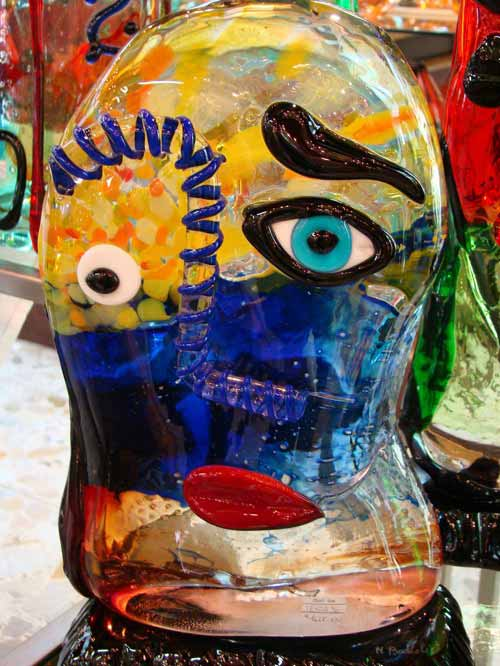 Murano Glass Sculpture Art