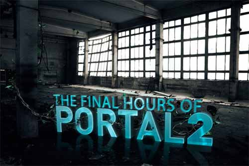 Portal 2 X Gameslice – Editorial Illustration