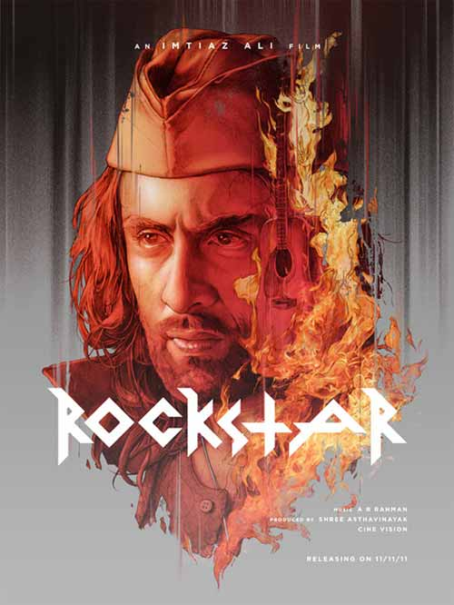 Portrait Illustrations: Rockstar Poster