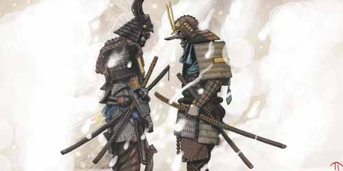 30 Digital Artworks to Bring Out Your Inner Samurai