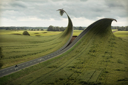 Realistically Unbelievable Street Illusions by Erik Johansson