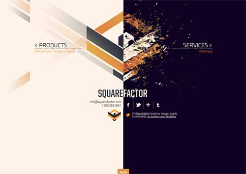 Squarefactor - Web, Mobile, Social and Experiential