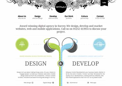 1 Minus 1: Web and Mobile Design Surrey
