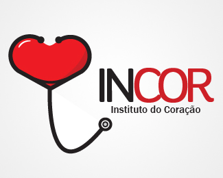 INCOR - Valentine Logo Design